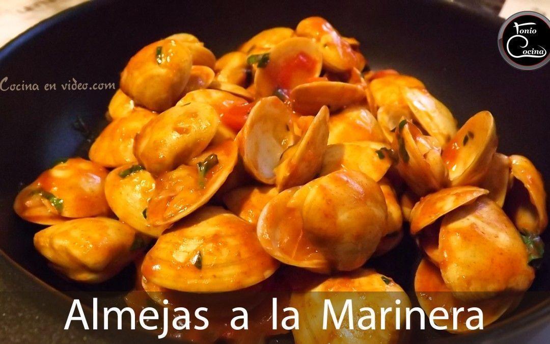 Almejas a la marinera   Salsa marinera