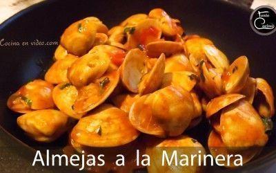 Almejas a la marinera | Salsa marinera