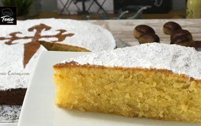 Tarta de Santiago (de almendra) | sólo 4 ingredientes