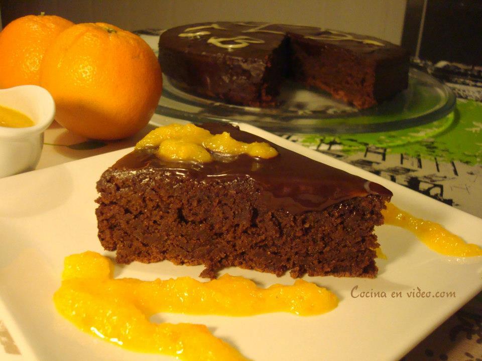 tarta-de-chocolate-almendra-y-naranja