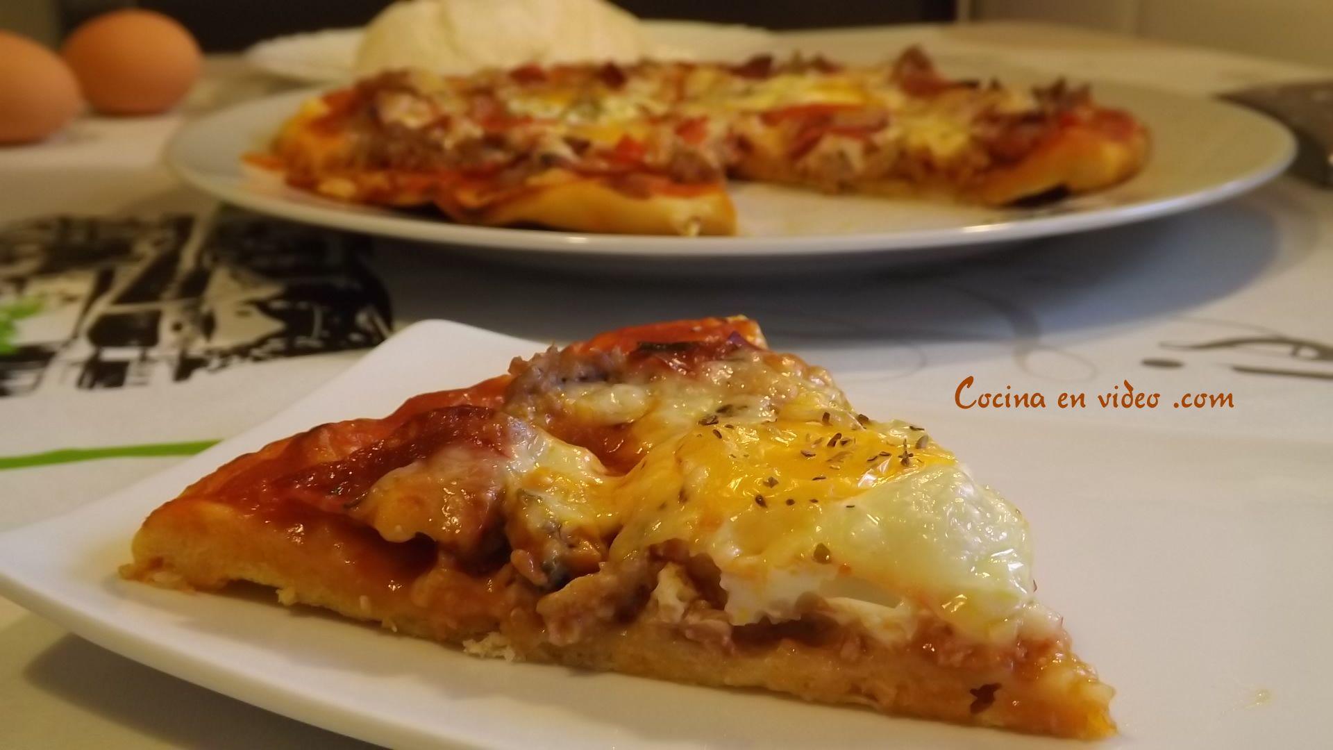 Masa de Pizza Italiana, receta fácil y rápida