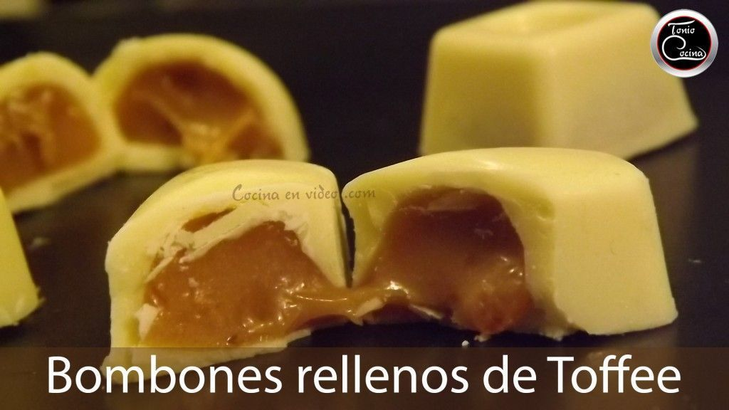 Bombones rellenos toffee 3 youtube