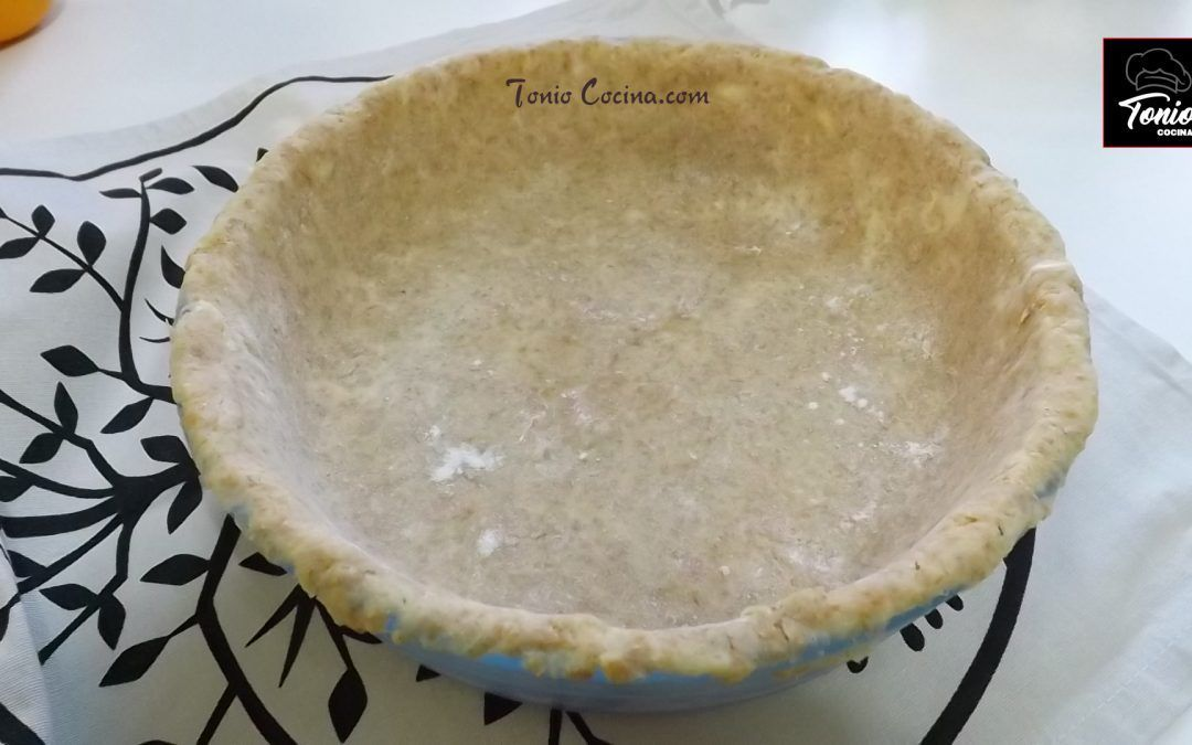 Masa Quebrada o Pasta Brisa (base para hacer tartas)