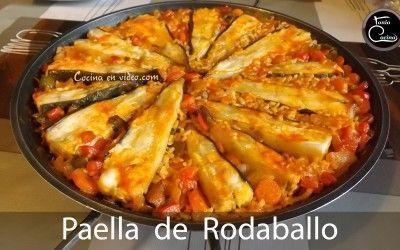 Paella de Rodaballo