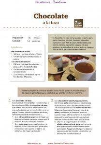 Chocolate a la taza CEN Hoja1