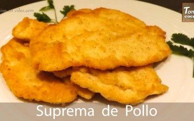 Supremas o Milanesas de pollo
