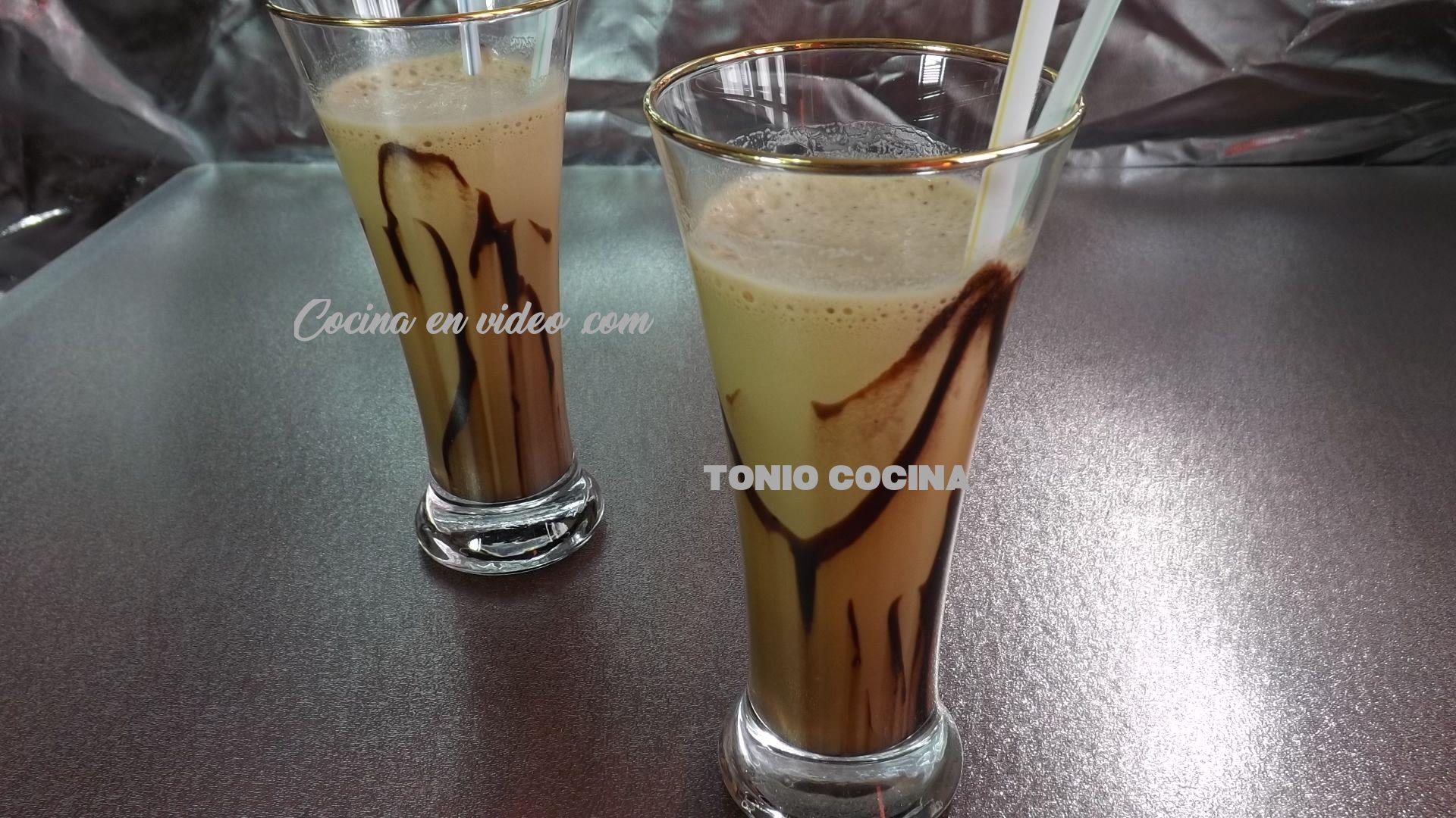 Café Frappé o Frappuccino de moca