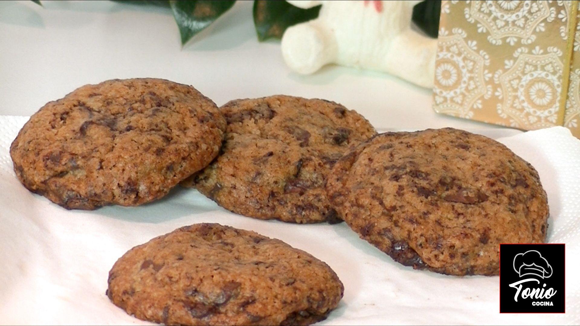 Galletas con chocolate, Cookies, receta original