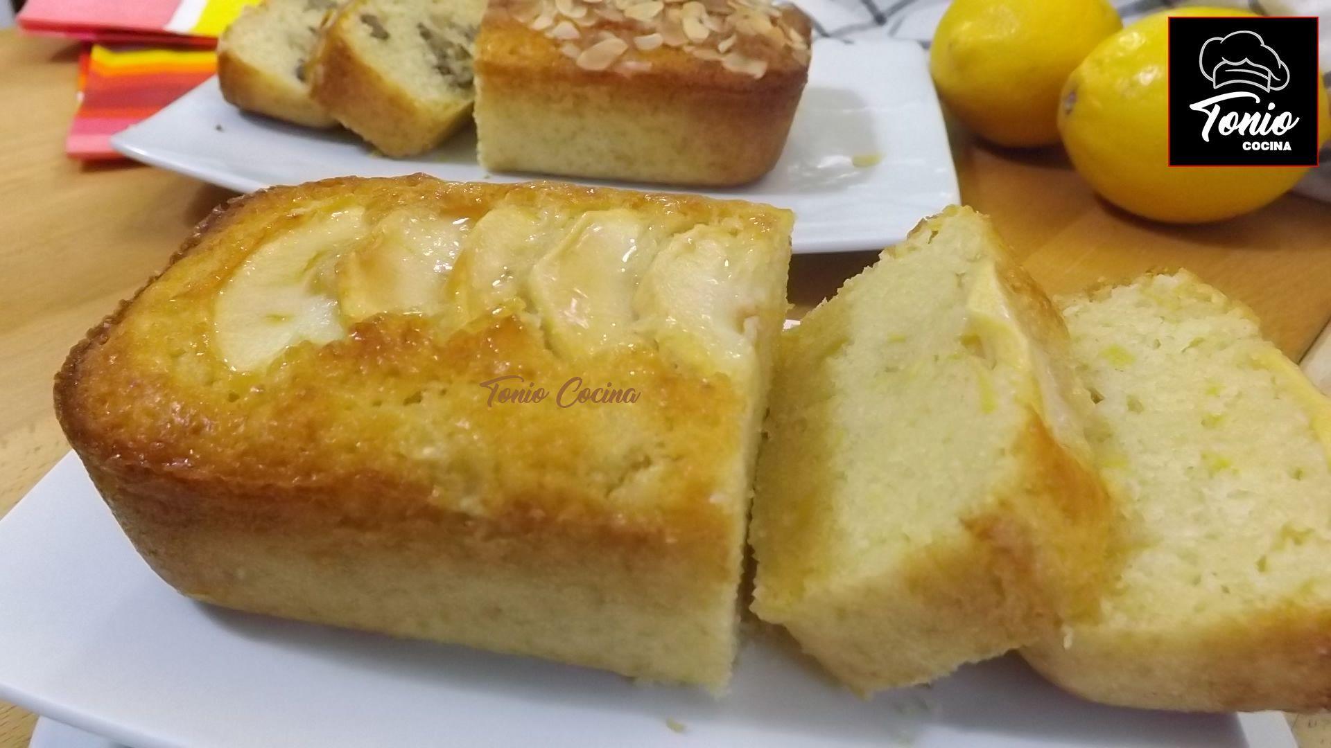 Bizcocho jugoso de manzana | Cake de manzana