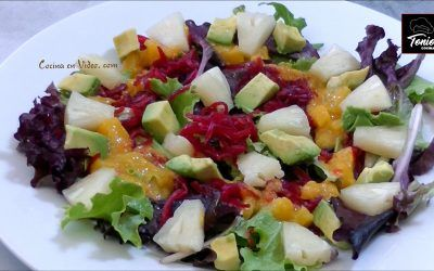 Ensalada tropical
