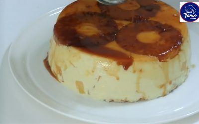 Tarta fría de Piña | Tarta fácil y rápida sin horno