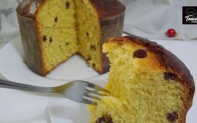 Panettone | Pan dulce de Navidad