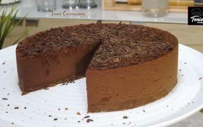 Tarta Marquise de chocolate