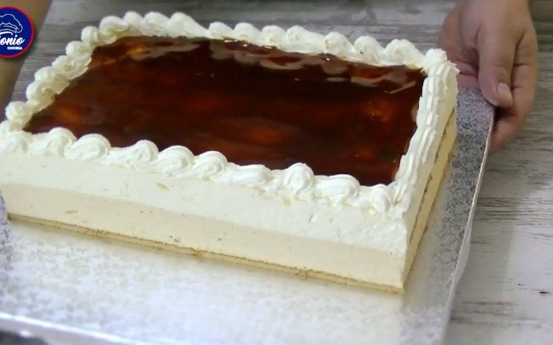Tarta helada de caramelo   receta sin horno