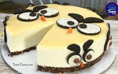"Tarta ""búhos"" de Chocolate y Oreo"
