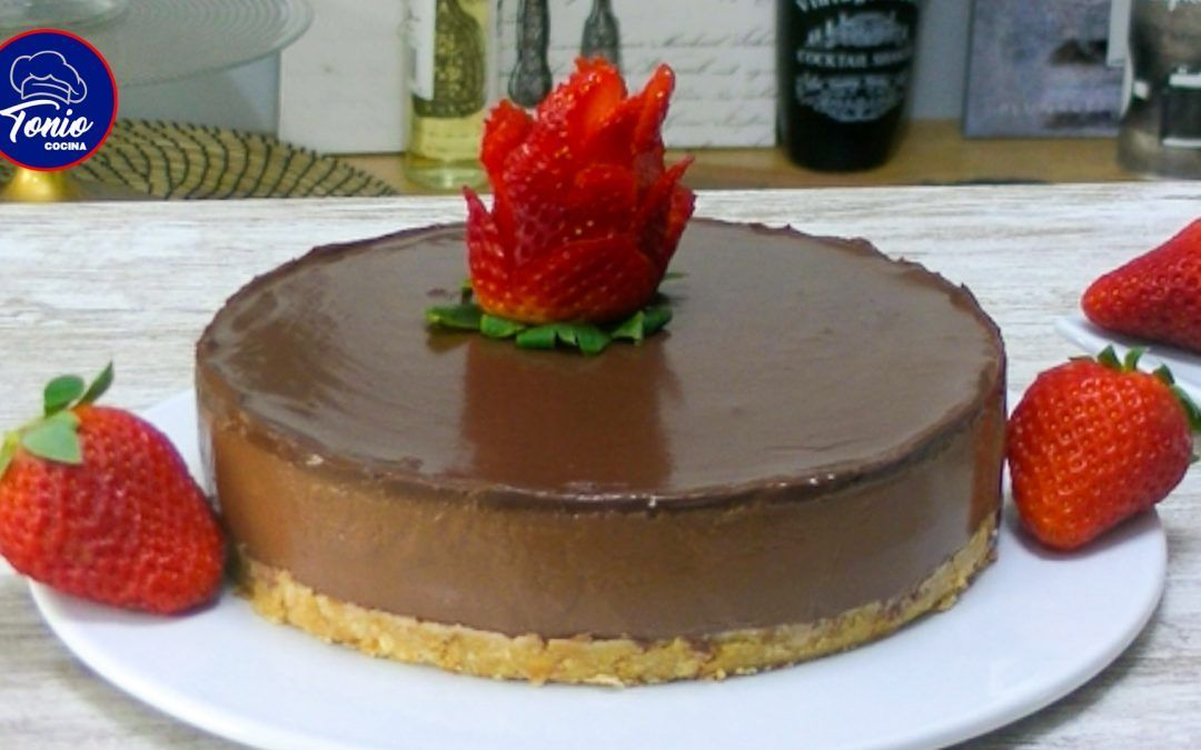 Tarta fria de chocolate