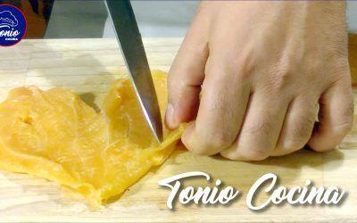 Como filetear las pechugas de pollo o pavo